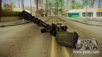 Minigun for GTA San Andreas