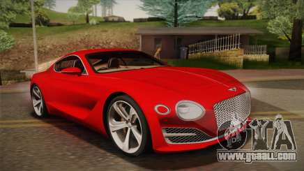 Bentley EXP 10 Speed 6 for GTA San Andreas