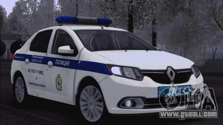 2016 Renault Logan for Moi for GTA San Andreas