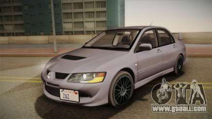 Mitsubishi Lancer GSR Evolution VIII 2003 for GTA San Andreas