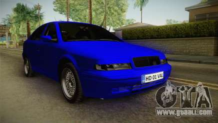 Skoda Octavia Simply Clean for GTA San Andreas