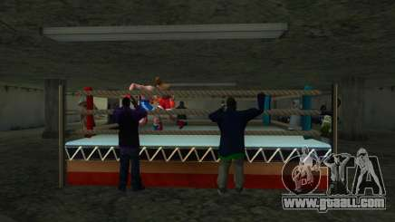 Illegal Boxing tournament 1.0 for GTA San Andreas