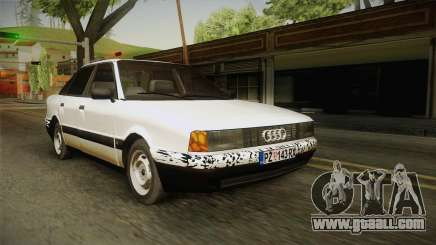 Audi 80 B3 V8 for GTA San Andreas