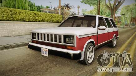 Bobcat Station Wagon v2 for GTA San Andreas