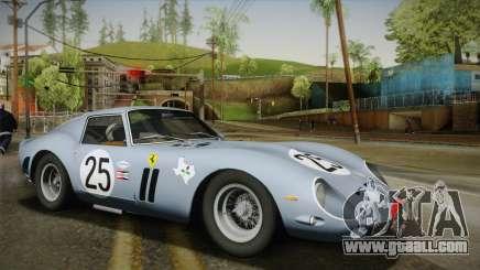 Ferrari 250 GTO (Series I) 1962 IVF PJ2 for GTA San Andreas