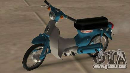 Honda Super Cub Modified for GTA San Andreas
