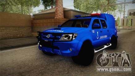 Toyota Hilux Turkish Gendarmerie Vehicle for GTA San Andreas