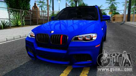 BMW X5M E70 for GTA San Andreas