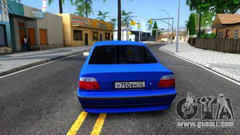 BMW 750iL E38 2001 for GTA San Andreas back left view
