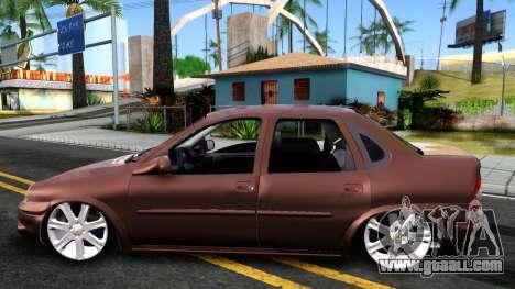 Chevrolet Corsa Sedan for GTA San Andreas left view