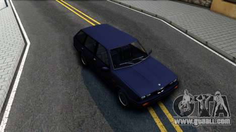 BMW 3-er E30 Touring SA Style for GTA San Andreas right view