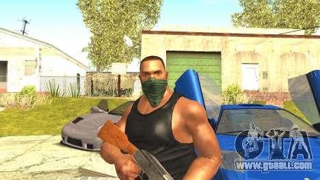 Remastered Cj Skin HD 2017 for GTA San Andreas