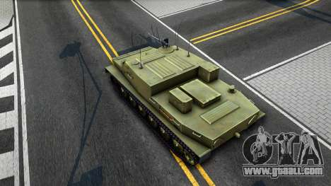 BTR-50 for GTA San Andreas back view