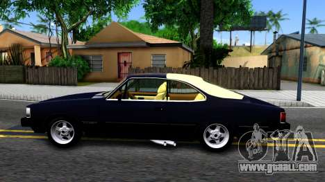 Chevrolet Opala 87 Diplomat Coupe for GTA San Andreas left view