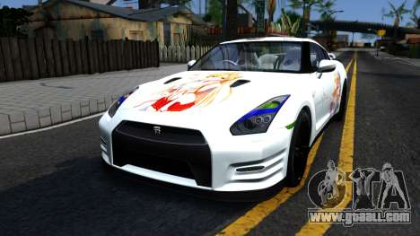 Nissan GT-R R35 - Sword Art Online for GTA San Andreas