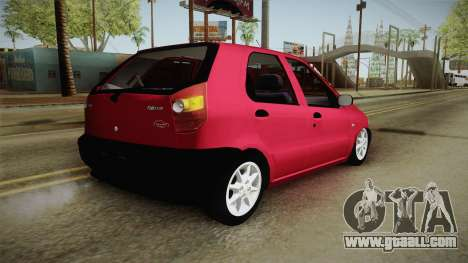 Volkswagen Golf G4 for GTA San Andreas back left view
