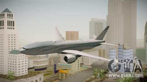 Boeing 777-2KQ VP-CAL Aviation Link for GTA San Andreas back left view