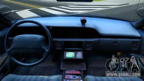 Chevrolet Caprice Police for GTA San Andreas inner view
