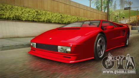 GTA 5 Pegassi Infernus Classic for GTA San Andreas right view