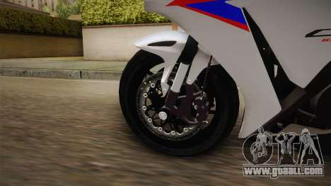 Honda CBR1000RR HRC 2012 for GTA San Andreas back view