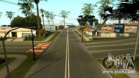 Russian roads for GTA San Andreas forth screenshot