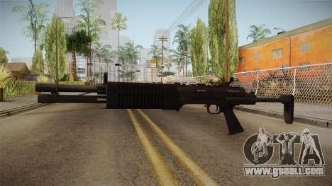 Battlefield 4 - QBS-09 for GTA San Andreas