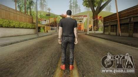 Anuel AA Camisa Versace for GTA San Andreas third screenshot
