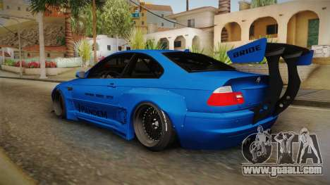 BMW M3 E46 Liberty Walk Pandem Livery for GTA San Andreas left view