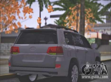 Toyota Land Cruiser 200 Sport Design for GTA San Andreas left view