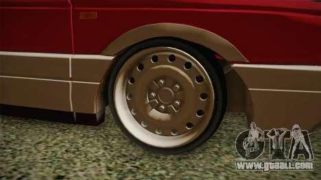 Volkswagen Passat B3 GT 2.0 for GTA San Andreas back view