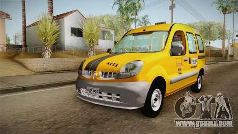 Renault Kangoo Taxi Colombiano for GTA San Andreas