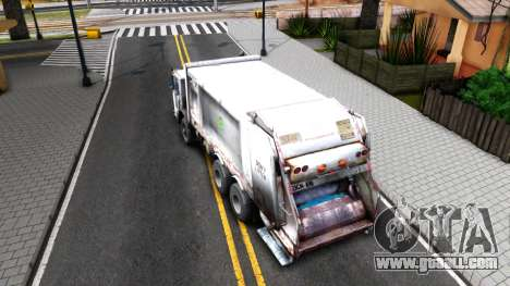 ORC Garbage Truck for GTA San Andreas back view