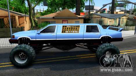 Stretch Monster Truck for GTA San Andreas left view