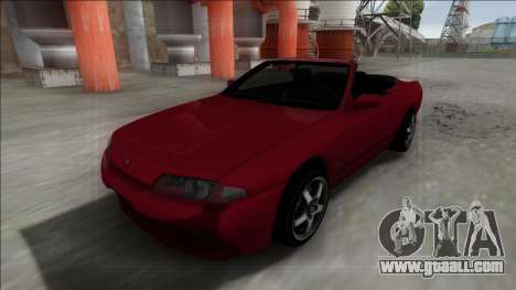 Nissan Skyline R32 Cabrio for GTA San Andreas back left view
