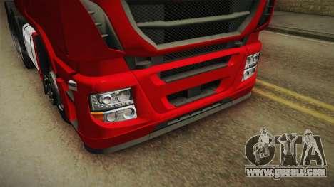 Iveco Stralis Hi-Way 560 E6 6x4 v3.1 for GTA San Andreas side view