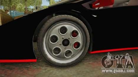 GTA 5 Pegassi Infernus Classic IVF for GTA San Andreas back view