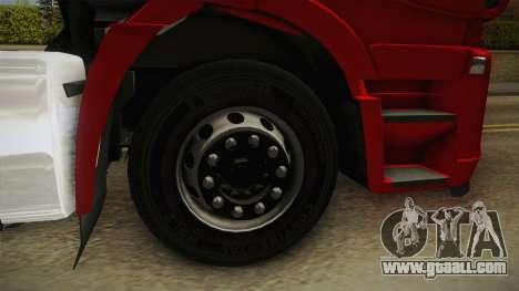 Iveco Stralis Hi-Way 560 E6 6x4 v3.1 for GTA San Andreas back view