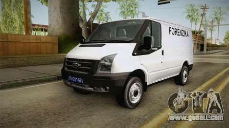 Ford Transit Forenzika for GTA San Andreas