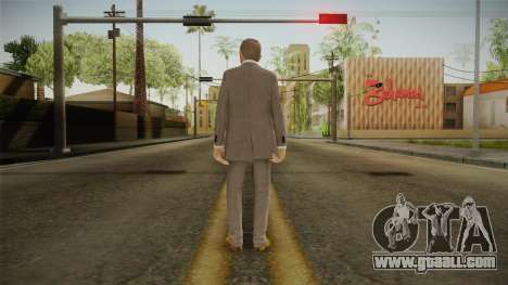 007 James Bond Daniel Craig Suit v2 for GTA San Andreas third screenshot