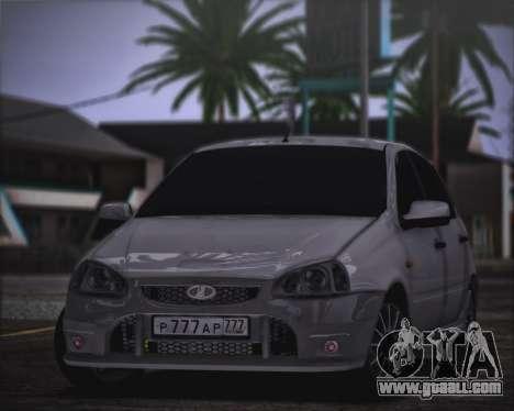 Lada Kalina Sport for GTA San Andreas