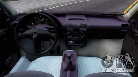 Chevrolet Corsa Sedan for GTA San Andreas inner view