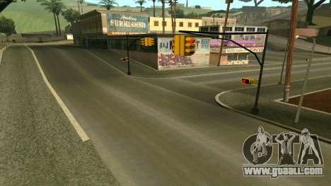 Russian roads for GTA San Andreas seventh screenshot