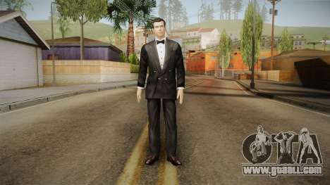 007 EON Bond Tuxedo for GTA San Andreas second screenshot