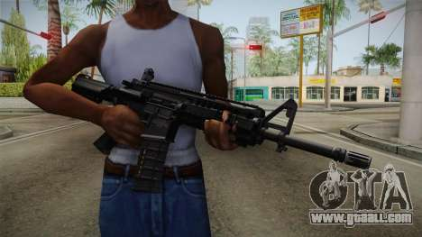 M4A1 S.I.R.S. for GTA San Andreas third screenshot
