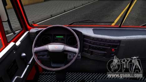 KAMAZ 65115 v2 for GTA San Andreas inner view