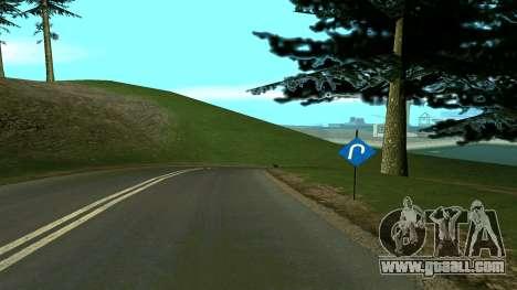 Russian roads for GTA San Andreas ninth screenshot