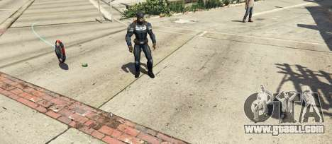 GTA 5 Captain America Shield Throwing Mod third screenshot
