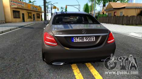 Mercedes-Benz C250 AMG Edition for GTA San Andreas back left view
