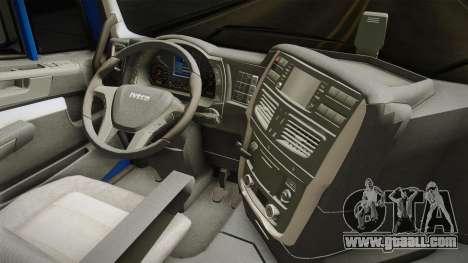 Iveco Stralis Hi-Way 560 E6 4x2 v3.2 for GTA San Andreas inner view