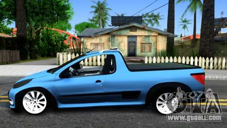 Peugeot Hoggar for GTA San Andreas left view